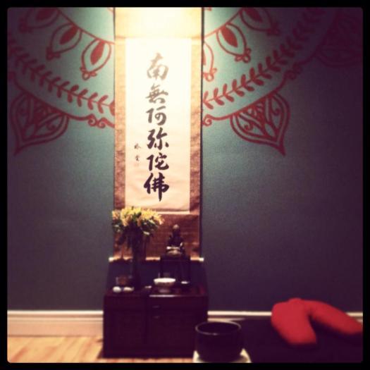 salt lake buddhist fellowship altar