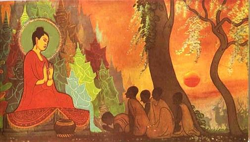 Buddha teaching illustrated_history_of_buddhism eso-garden com